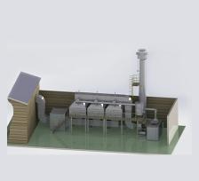活性炭+CO爐系統